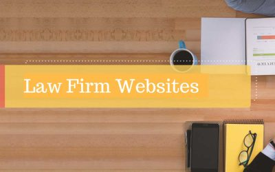 Law firms Declutter Websites Less is More